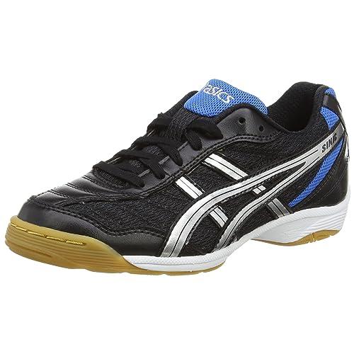 ASICS Gel-sinic GS, Zapatillas de fútbol Sala Unisex-Niño, Negro/