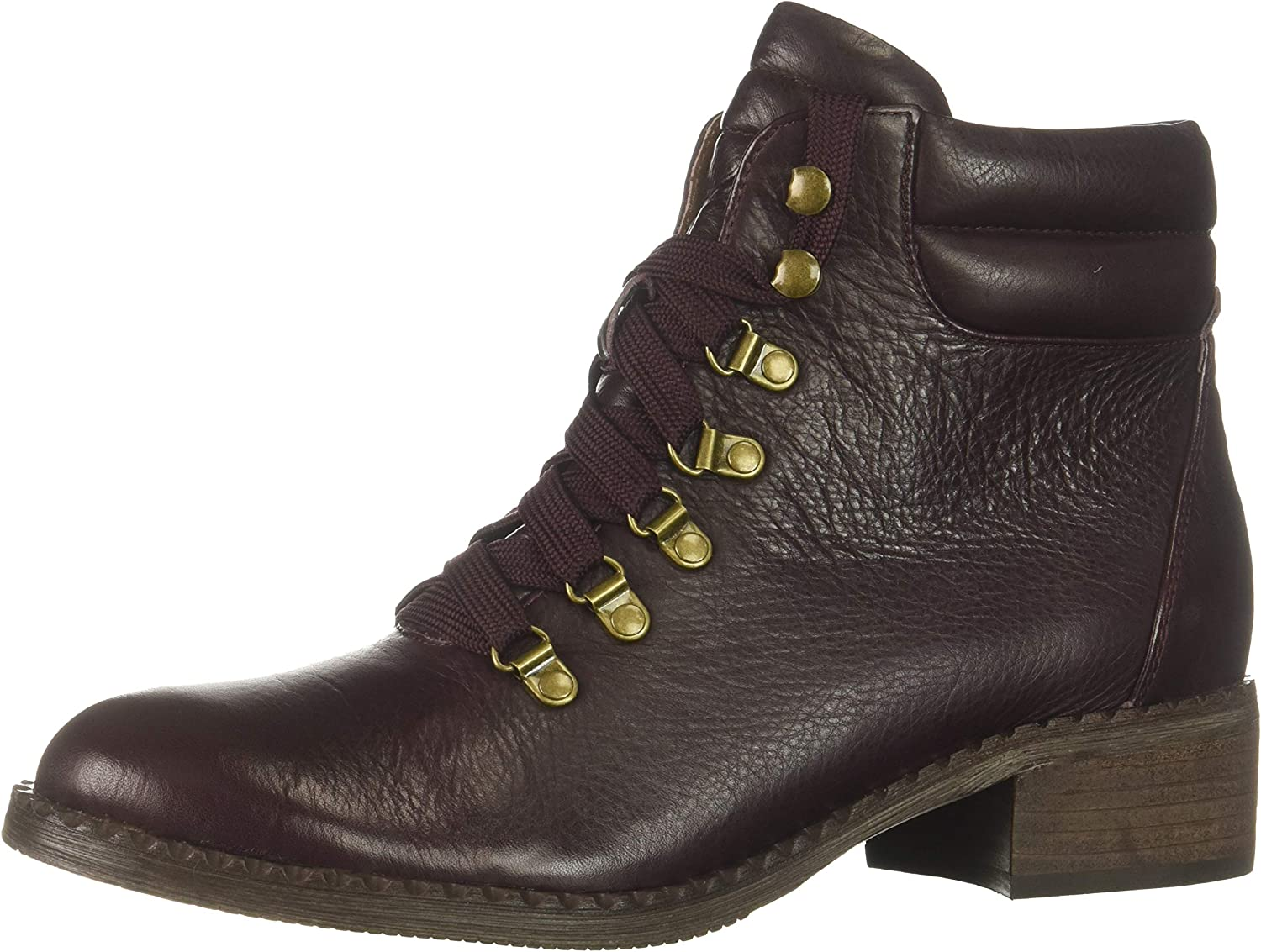 Gentle Souls Womens Brooklyn Alpine Lace-up Bootie Ankle Boot