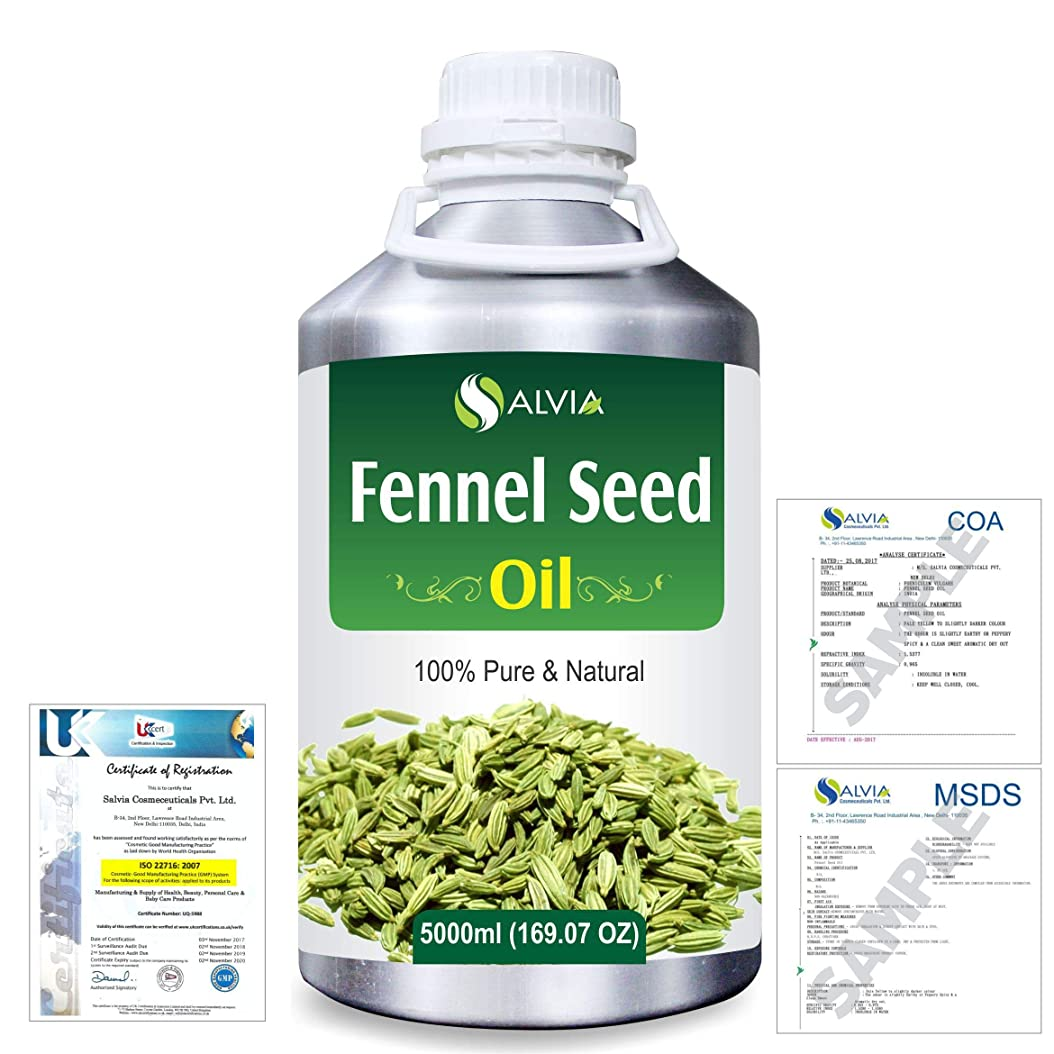 とにかく入る移行するFennel Seed 100% Natural Pure Essential Oil 5000ml/169fl.oz.