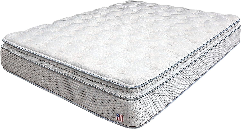 Max 84% OFF Furniture of America Dreamax 11-Inch Mattress Top Pillow Full High material