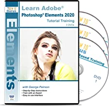 Adobe Photoshop Elements 2020 Training for Windows - 3 DVDs Over 19 Hours in 240 Software Tutorial with Easy to Follow Videos plus Tips and Tricks from How To Gurus