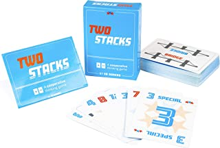 Two Stacks Cooperative Card Game with Adjustable Difficulty Levels