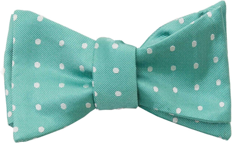 Elizabetta Silk Bow Tie for Men Self Tie   Made in Italy