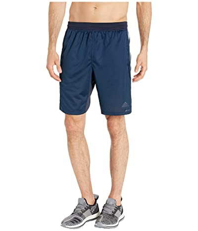 adidas 4Kraft 9 3-Stripe Shorts (Legend Ink/Heather) Men