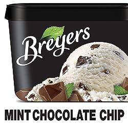 Breyers Original Ice Cream, Mint Chocolate Chip, 48 oz