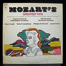Mozart's Greatest Hits Milton Glaser Art LP Vinyl Record