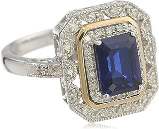 Best gold ring sapphire diamond Reviews