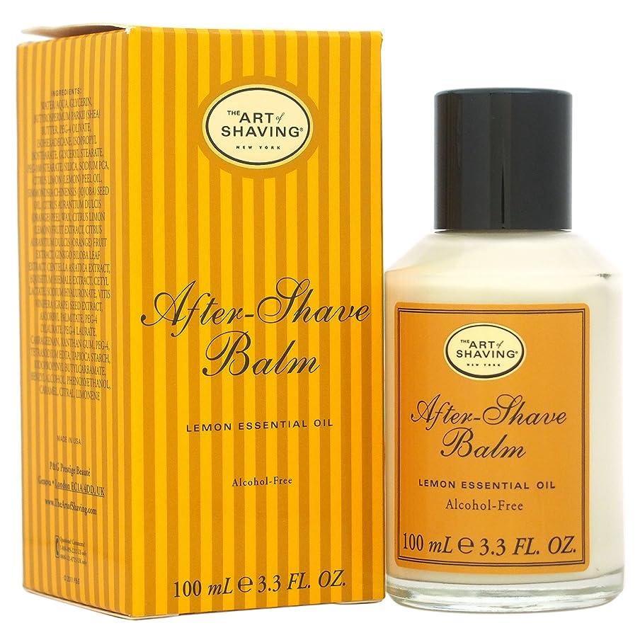 トピック忠実な従順なThe Art Of Shaving After-Shave Balm With Lemon Essential Oil (並行輸入品) [並行輸入品]
