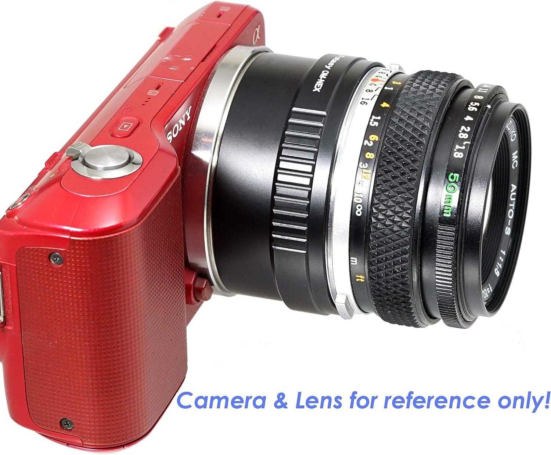 fits Sony NEX-5T NEX-6 NEX-7 a3000 a3500 a5000 a5100 a6000 a6100 a6300 a6400 a6400 a6500 a6600 Fotasy Tamron Adaptall Lens to Sony E-Mount Adapter Tamron Adaptall-II Adaptall-2 Adapter to E Mount