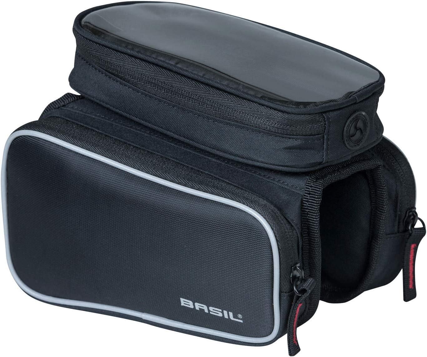 Cheap mail Direct sale of manufacturer order shopping Basil Unisex– Adult's Rahmentasche-2179225350 Black case Frame
