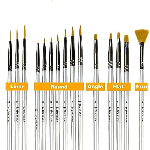 Paint Brushes Enamel Amazon Com