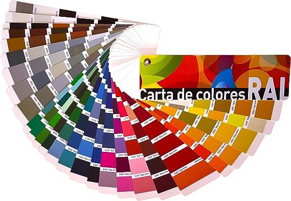 Carta de colores RAL Estándar. Paleta de colores profesional. Envío GRATIS 24 h