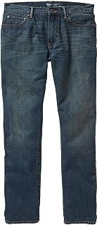 GAP Mens Straight Fit Dark Wash Jeans (32x32)