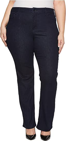 Plus Size Barbara Bootcut Jeans in Rinse