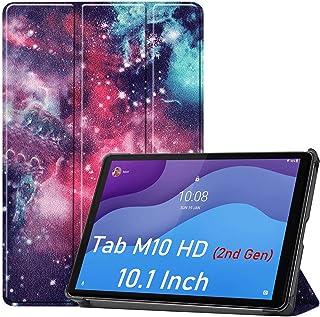 HYMY Lenovo Tab M10 HD 2nd Gen TB-X306F TB-X306X fodral för Lenovo Tab M10 HD 2nd Gen TB-X306F TB-X306X Folio fodral - Fli...