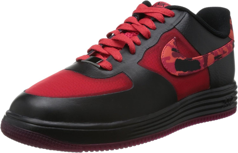 Nike [599839-600 Lunar Force 1 FUCE Leather Mens Turnschuhe Hyper rot Noble rot schwarzM B00EC4C41I  Hohe Qualität und geringer Aufwand