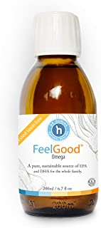 DR. DOBIAS Feelgood Omega - Pure & Sustainable Omega-3 Oil, Tested Toxin and Heavy Metal Free, Made in Norway