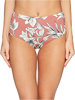 Printed Softly Love Ful Reversible Mid-Waist
