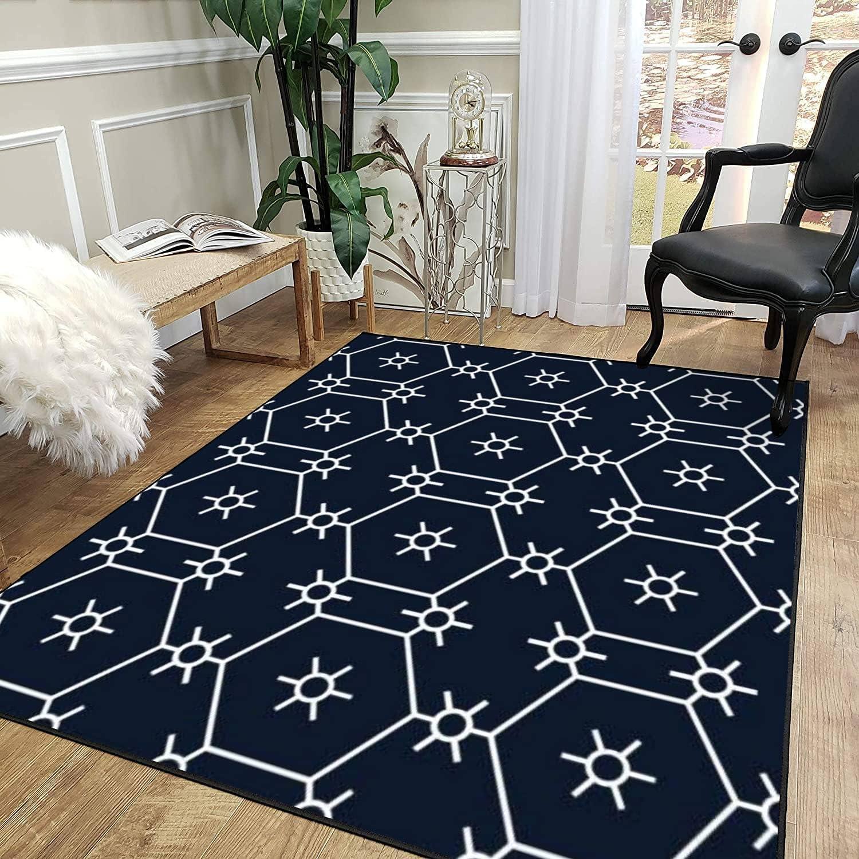 Low price Rug Pad Geometric Ethnic Pattern Design Non-Slip Elegant Traditional for