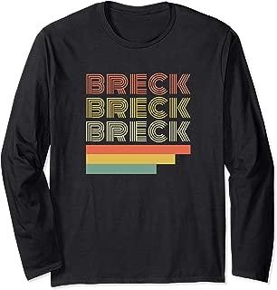 Vintage Breckenridge Colorado Shirt Retro Gift Ski Skiing Long Sleeve T-Shirt