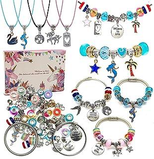Charm Bracelet Making Kit,Jewelry Making Supplies...