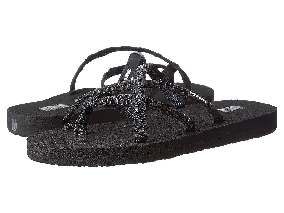 Teva Olowahu (Mix B on B) Women's Sandals, Black