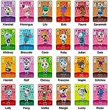 24 Pcs Animal Crossing New Horizons ACNH NFC Tag Mini Cards
