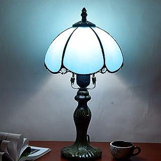 """Lampe de Table Minimalisme européen Méditerranée Salon Bleu Salle à Manger Chambre à Coucher Lampe de Table de Chevet 8""""Hô..."""