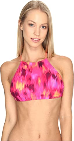 Print Tie Back Top