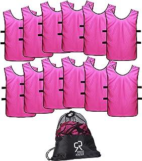 SportsRepublik Pinnies Scrimmage Vests for Kids, Youth...