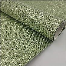 DIY □ Plaid Sequin glitter regenboog kleur stof kunstmatige synthetische PU lederen naaien handgemaakte boog ambachtelijke...