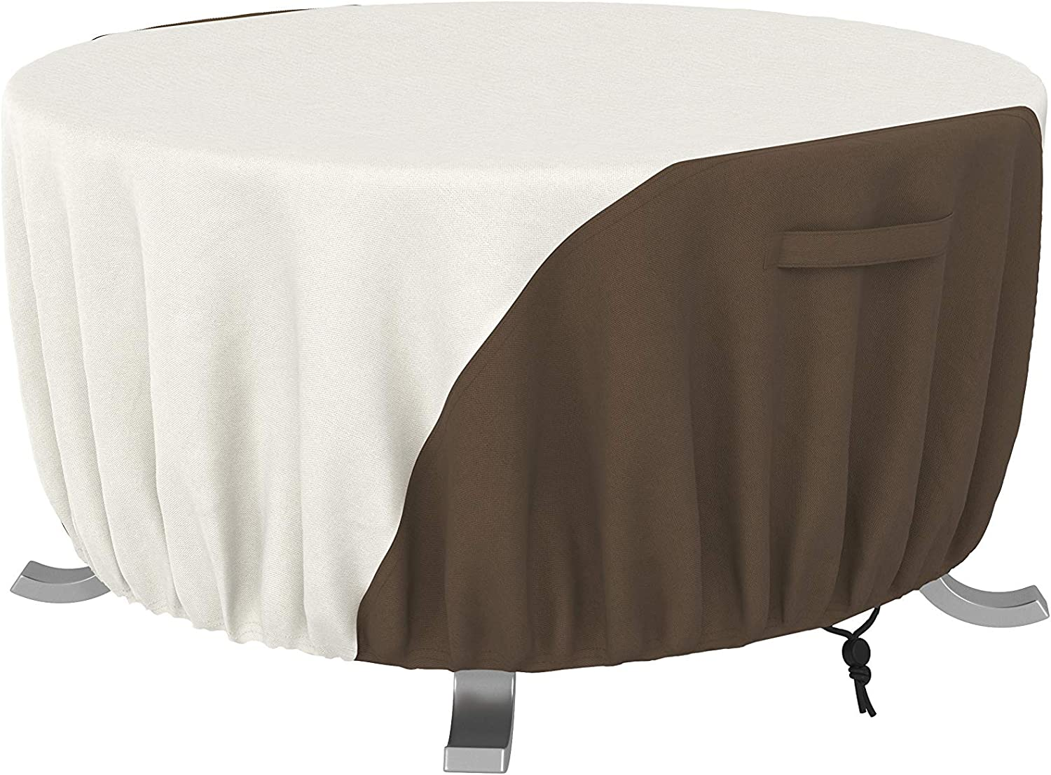 Amazon Basics Outdoor Round Max 80% OFF Patio Cover inch 60 Super Special SALE held Fire Pit