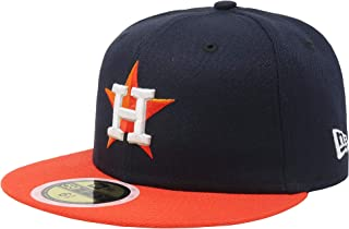 e98aadd0f2852f New Era Kids 59Fifty Fitted Hat Authentic Collection Houston Astros Road  Navy (6 1/
