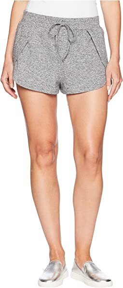 Pretty in P.E. Space Dye Spandex Overlap Shorts