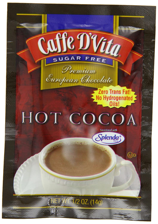Caffe D'Vita Sugar Max Portland Mall 61% OFF Free Hot Cocoa 14-Gram 12 Pack Envelopes of