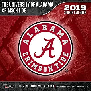 Alabama Crimson Tide 2019 Sports Calendar