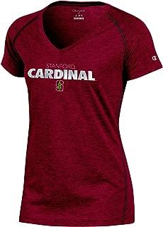 Champion Womens NCAA Champion Women's Goal Short Sleeve Synthetic V-Neck T-Shirt CBLCH0ZAMZ