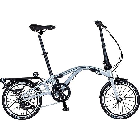 ダホン(DAHON) Curl i4 インターナショナルモデル フォールディングバイク 16インチ 2019年モデル CUA644 クローム