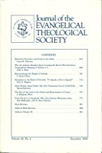 Journal of the Evangelical Theological Society: Volume 48, Number 4, December 2005