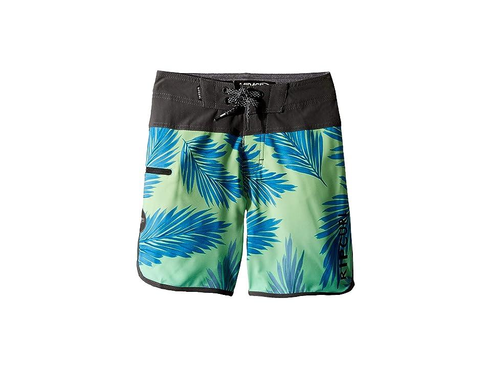 Rip Curl Kids Mirage Mason Rockies Boardshorts (Big Kids) (Green) Boy