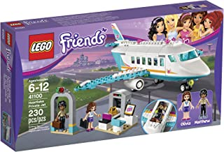 lego friends airplane inside