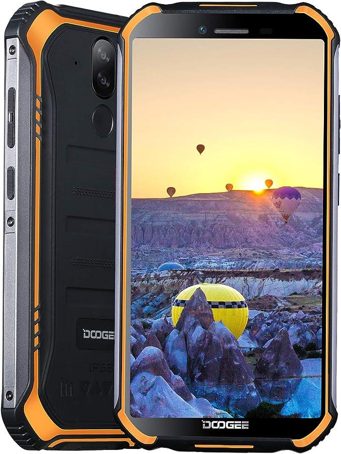 "43 opinioni per Cellulari Offerte, DOOGEE S40 Pro Rugged Smartphone, 5.45"" HD+, 4650mAh Batteria"