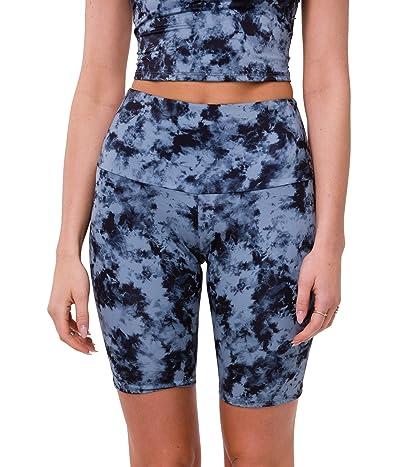 Onzie Biker Shorts (Moonstone Acid Wash) Women