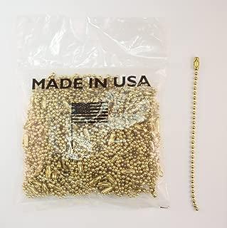 Brass Plated Ball Chains, 4