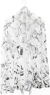 ミハイル ギニス アオヤマ MICHAIL GKINIS AOYAMA 着る ART ストール [登録意匠] 日本製 ハイテク ニット MADE IN TOKYO ギリシャ 大判 コットン Cotton OLA CORNICE ホワイト シルバー white silver