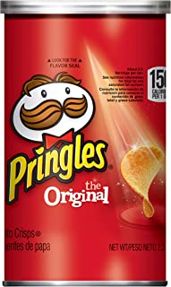 Pringles Potato Crisps Chips, Original, 2.3oz (12 Count)