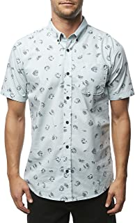 O'Neill Men's Fanfare Short Sleeve Button Up