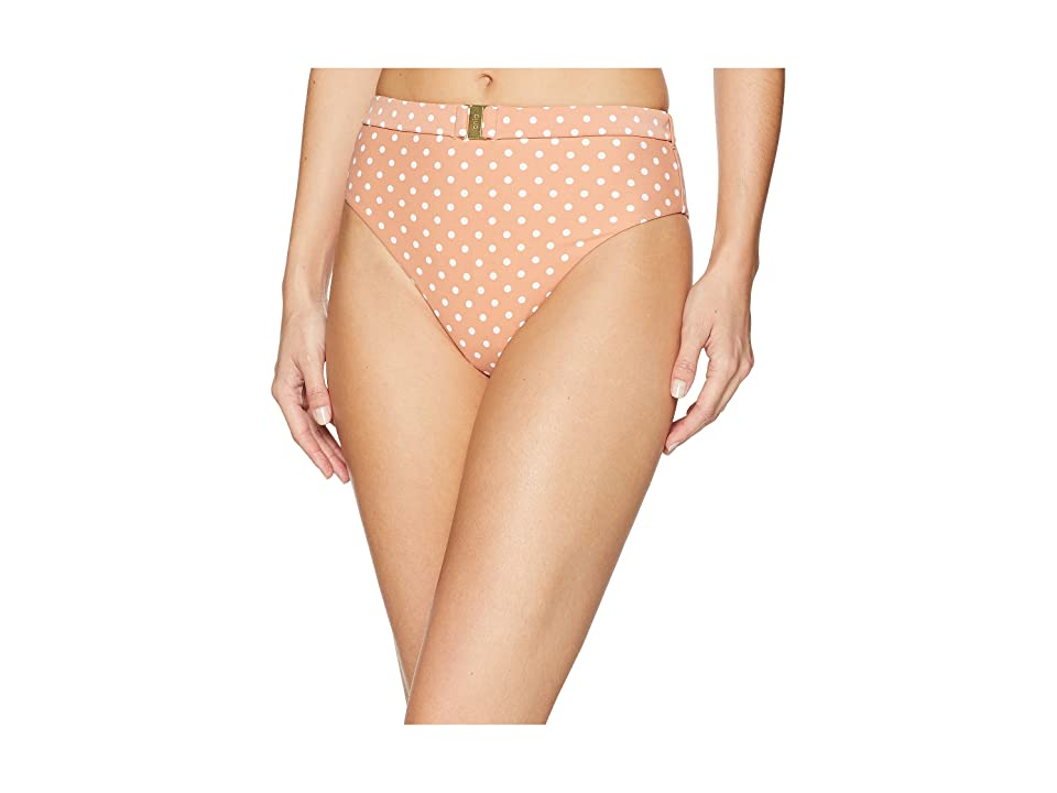 onia WeWoreWhat x onia Emily Bottom (Nude Polka Dots) Women