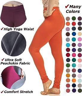 LMB Women's Extra Soft Leggings with High Yoga Waist...