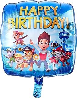 Anagram 30180 Paw Patrol Happy Birthday Foil Balloon, 18